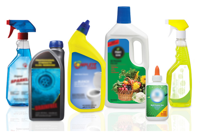 CHEMICAL PRODUCTS USED FOR CLEANING